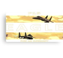 Pure Eagle F15 Canvas Print