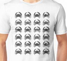 Cosmic Crabs (Black) Unisex T-Shirt
