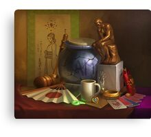 Ace Attorney Still Life Canvas Print