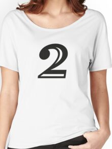 Decorated number 2 Two Women's Relaxed Fit T-Shirt