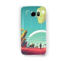 Rick and Morty Poster Samsung Galaxy Case/Skin