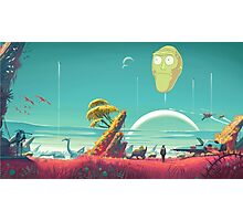 Rick and Morty Poster Photographic Print