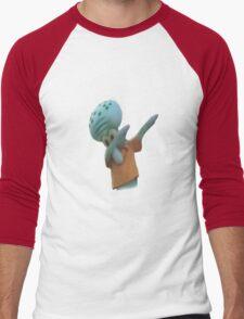 Squidward Dab Men's Baseball ¾ T-Shirt