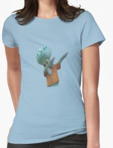 Squidward Dab Womens Fitted T-Shirt