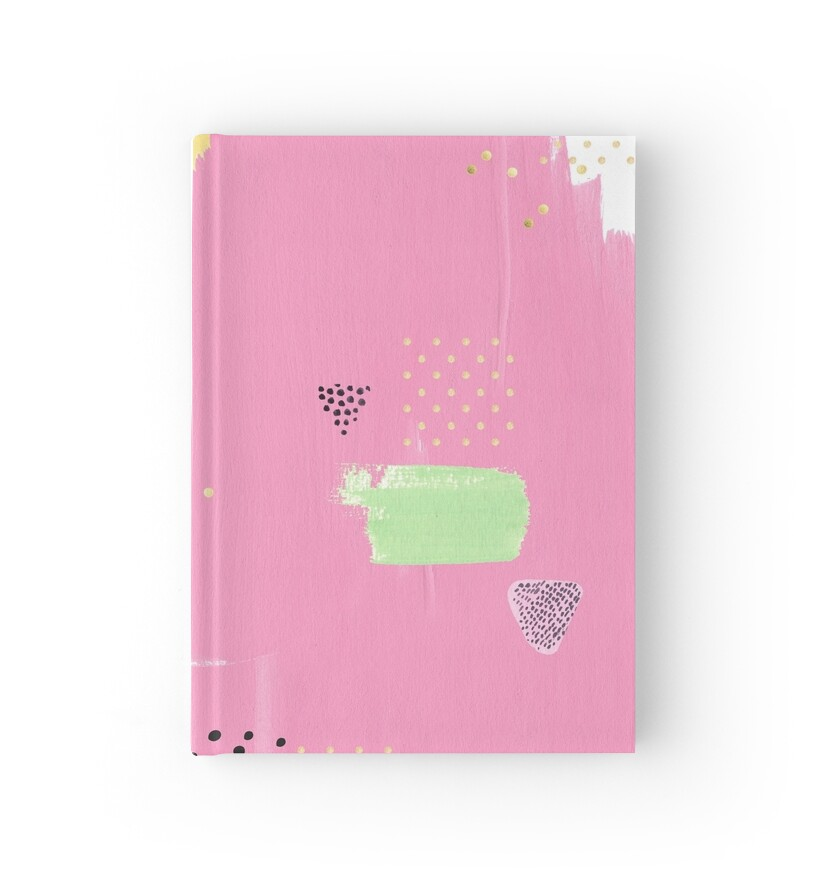 u0026quot another word for pink u0026quot  hardcover journals by