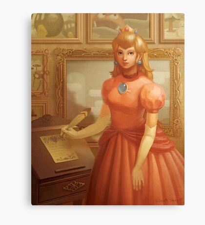 Princess Peach Portrait Canvas Print