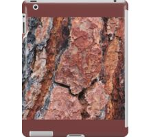 Red Wood iPad Case/Skin