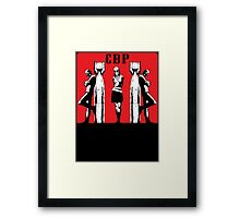 CBP BOMBS Framed Print