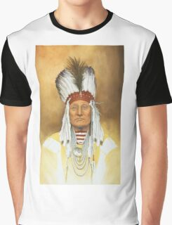 The Old War Chief Graphic T-Shirt