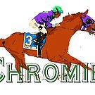 California Chrome Chromie  by Ginny Luttrell