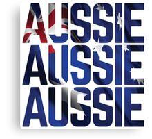 Aussie, Aussie, Aussie Canvas Print