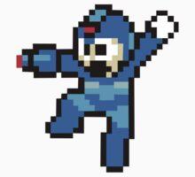 Megaman 8 Bits Kids Clothes