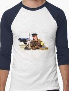 Rumsfield- the burbs Men's Baseball ¾ T-Shirt