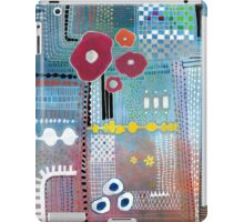 Motherboard with Flowers iPad Case/Skin