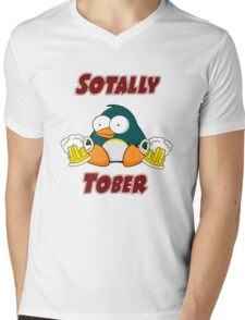 SOTALLY TOBER (Totally Sober) Mens V-Neck T-Shirt