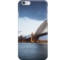 Sydney Harbour sunset panorama iPhone Case/Skin