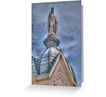 Mother Mary Greeting Card