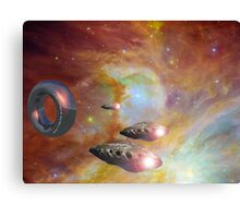New Earth Station and Squadron 5 Canvas Print