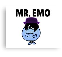 MR. EMO Canvas Print