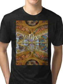 Je T'aime Chateau Versailles Peace Salon Hall of Mirrors Tri-blend T-Shirt