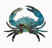 Cosmic Crab (Blue) Kids Clothes