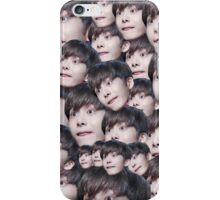 Monsta x face collage  iPhone Case/Skin