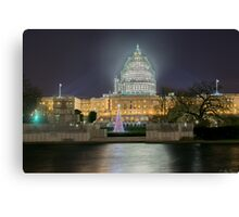 Christmas in The District Canvas Print