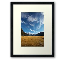 New Zealand Vista Framed Print