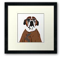 Dwight Dog Framed Print