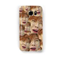 Monsta x face collage Samsung Galaxy Case/Skin