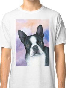 Dog 128 Boston Terrier Classic T-Shirt