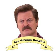 Ron Swanson by katietruppo