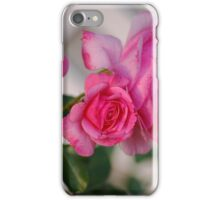 Pink Roses in my Garden iPhone Case/Skin