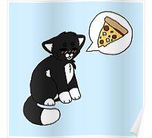 Tuxedo Pizzacat Poster