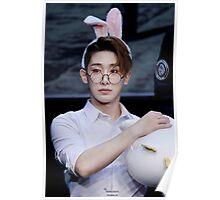 Bunny eared wonho Poster