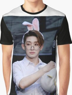 Bunny eared wonho Graphic T-Shirt
