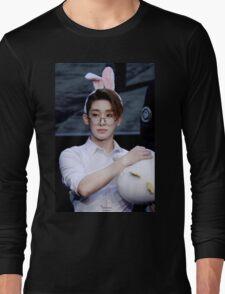 Bunny eared wonho Long Sleeve T-Shirt