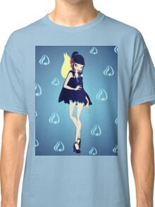 Blue Flame/Fire Fairy Drawing - (Designs4You) Classic T-Shirt