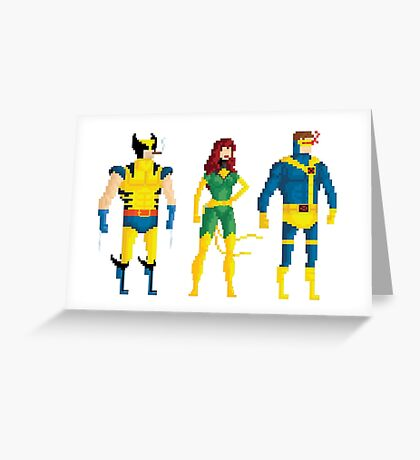Mutants in Bits Greeting Card