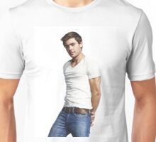 Handsome Zac Efron 5 Unisex T-Shirt