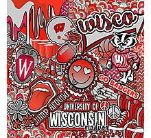 Wisco Collage Photographic Print