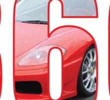 Ferrari 360 Modena  Sticker