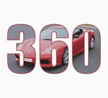 Ferrari 360 Modena  Kids Tee