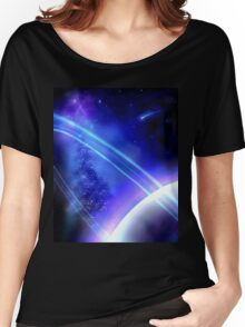 Purple Planet Women's Relaxed Fit T-Shirt
