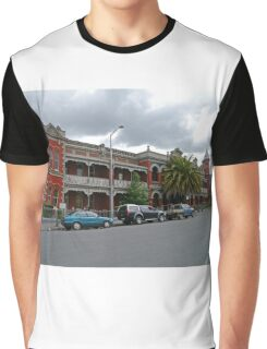 Esk View Terrace, Launceston, Tasmania, Australia Graphic T-Shirt