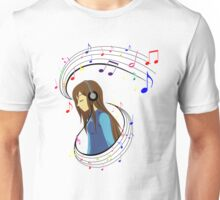 The Color of Music Unisex T-Shirt