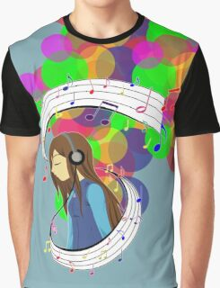 The Color of Music Graphic T-Shirt