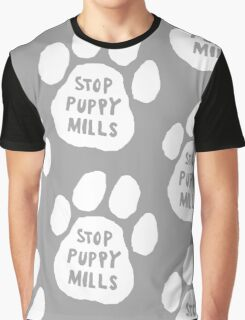 Stop Puppy Mills! Graphic T-Shirt