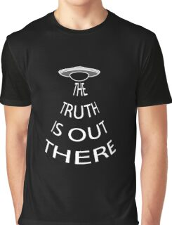 The Truth is Out There (Black) Graphic T-Shirt