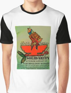 Ruby Ridge Dairy Workers Graphic T-Shirt